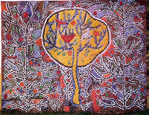 Мозаика Церетели в Пицунде